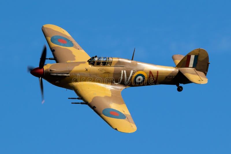 Hawker Furacão IV, pássaro em voo foto de stock