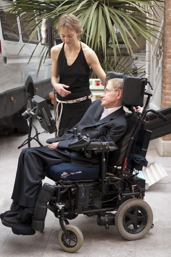 Hawking dello Stephen fotografia stock