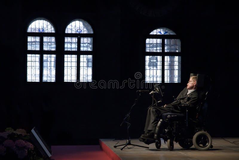 Hawking dello Stephen fotografie stock