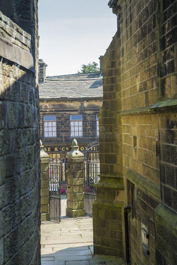 Haworth ocidental - yorkshire foto de stock royalty free