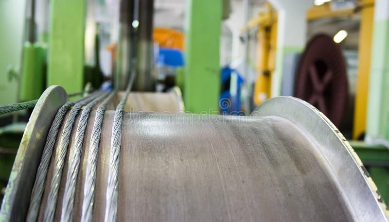 Download Hawser manufacturing stock image. Image of background - 19181561