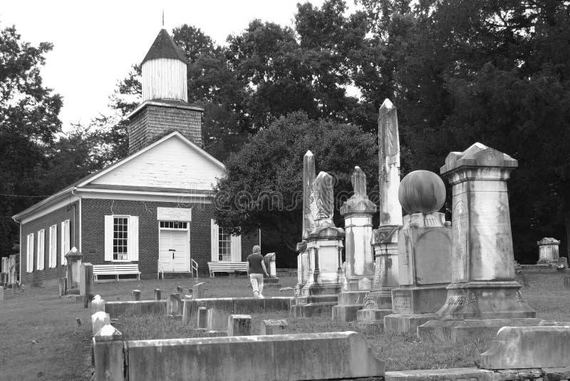 Hawshaw公墓 库存图片