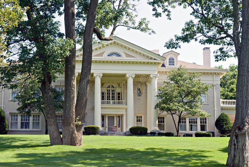 Hawthorn Hill Mansion stock image