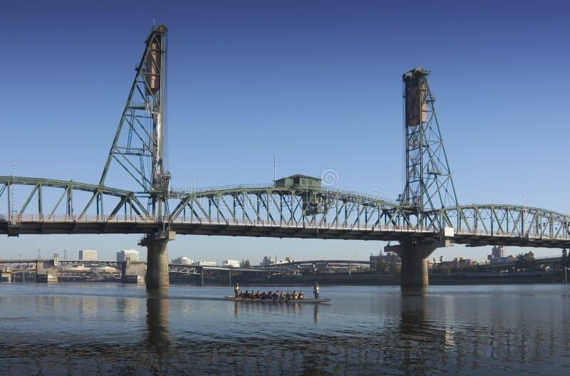 Hawthorne Brücke stockfotos