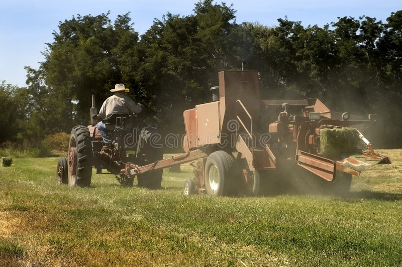 Hay Bale Tractor