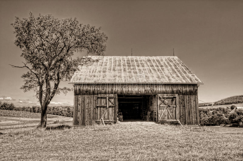 Hay Barn stock images