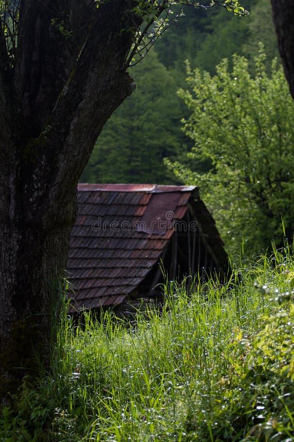 Hay Barn imagenes de archivo