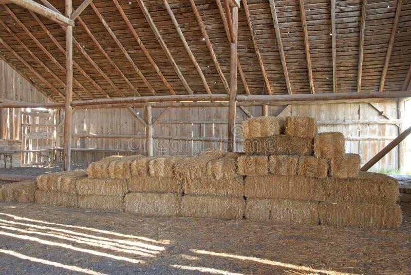 Download Hay Barn stock image. Image of haystack, animal, stack - 39502061