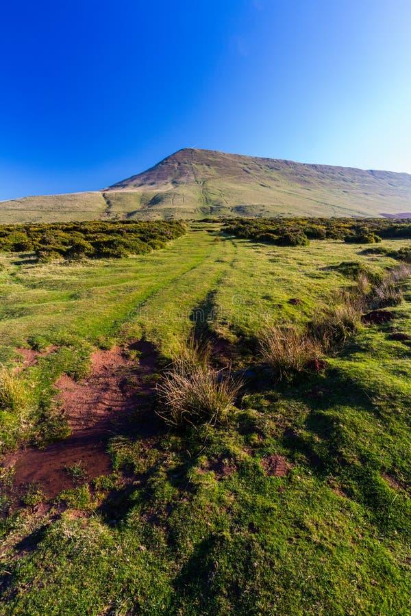 Hay Bluff, Penybegwn, punto di riferimento in Galles immagini stock