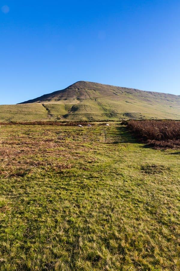 Hay Bluff, Penybegwn, punto di riferimento in Galles immagine stock libera da diritti