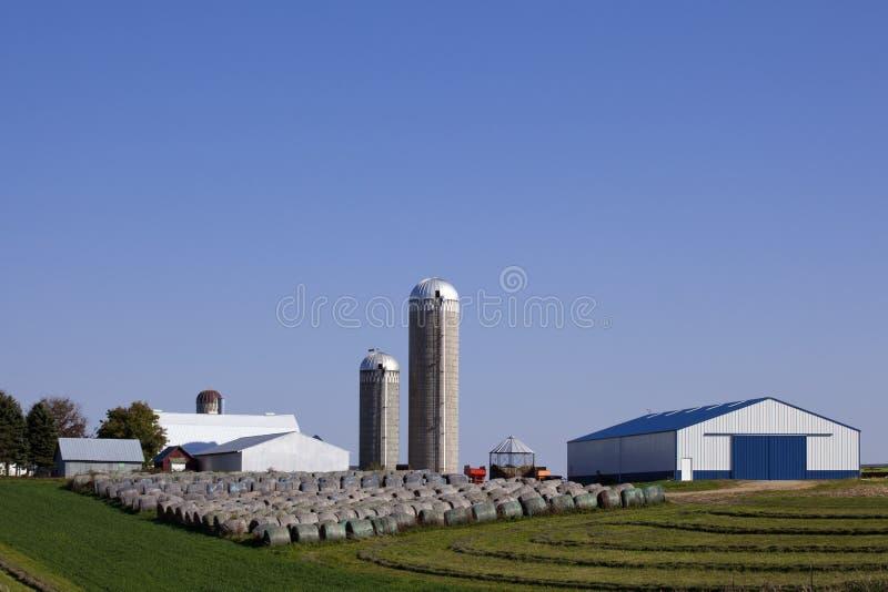 Hay Farm stock photos