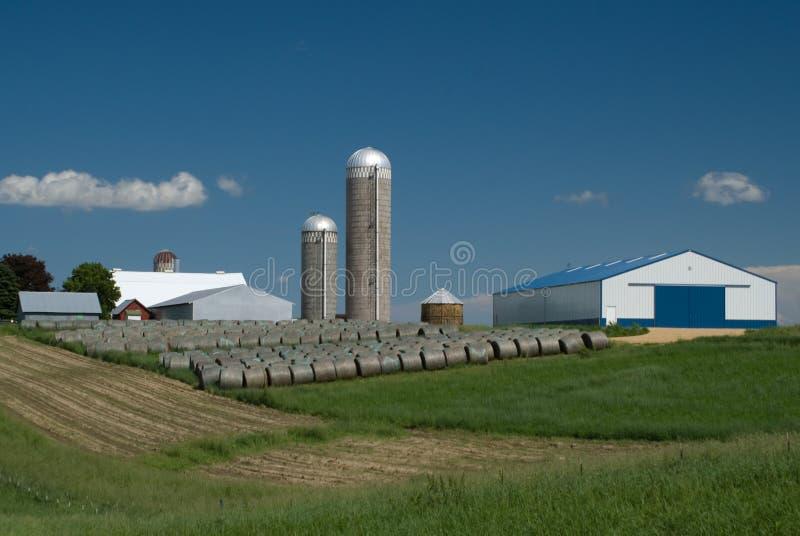 Hay Farm royalty free stock photos