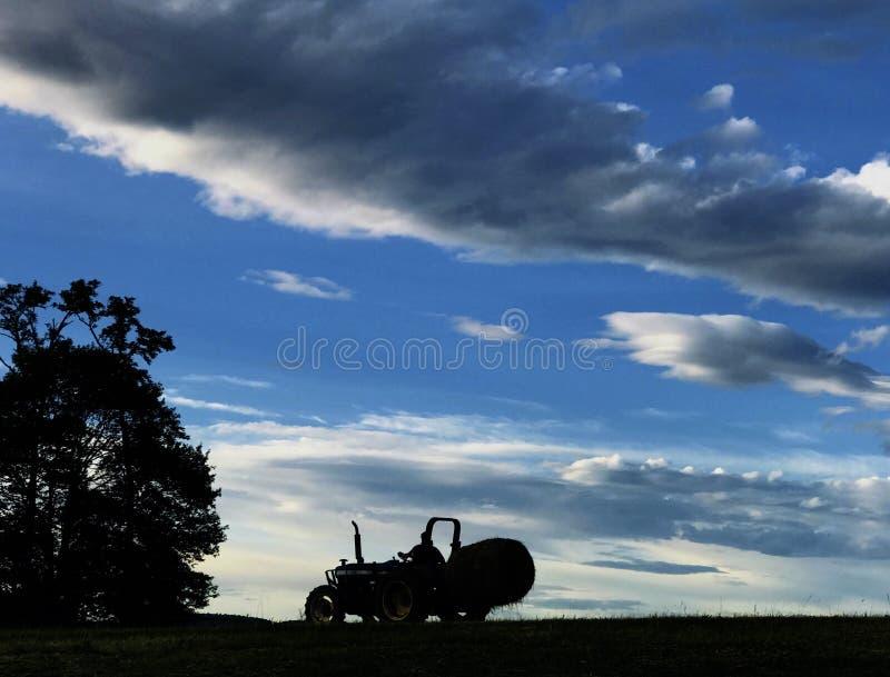 Hay Field fotos de stock royalty free