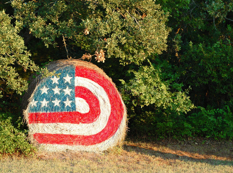 Hay flag stock images
