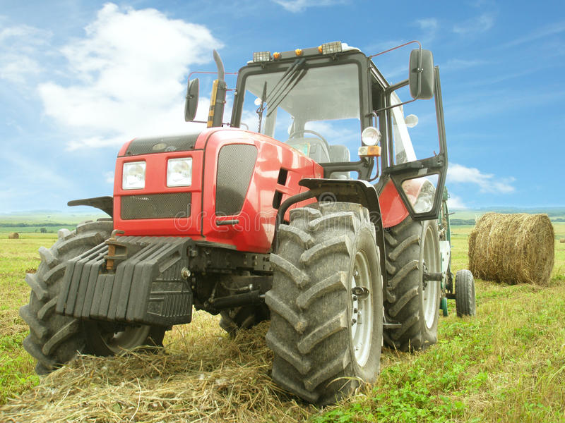 Download Hay Harvesting In The Field Stock Photo - Image: 26603112