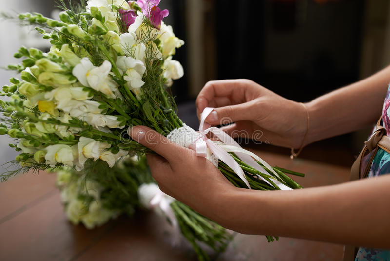 Hay ramo agradable de la boda foto de archivo libre de regalías