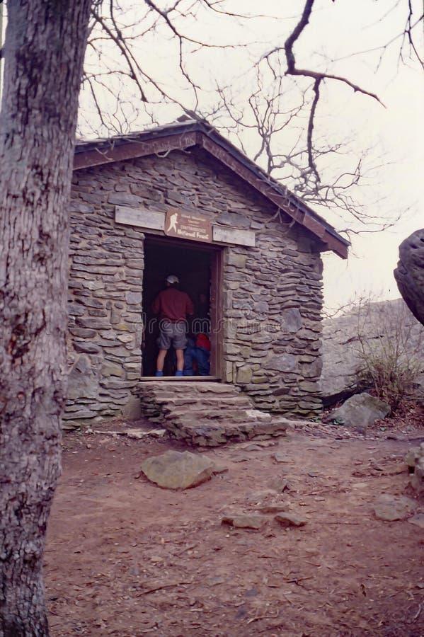 Hay Rock på den Appalachian slingan fotografering för bildbyråer
