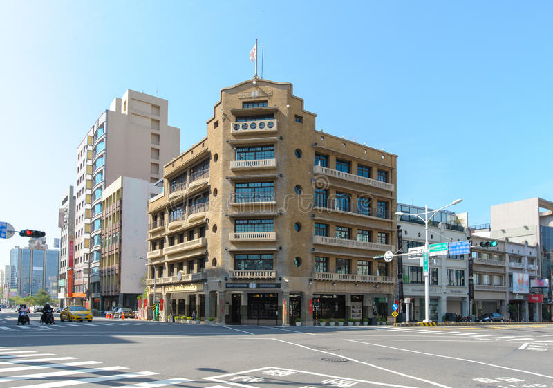 Hayashi Department Store in Tainan, Taiwan lizenzfreies stockfoto