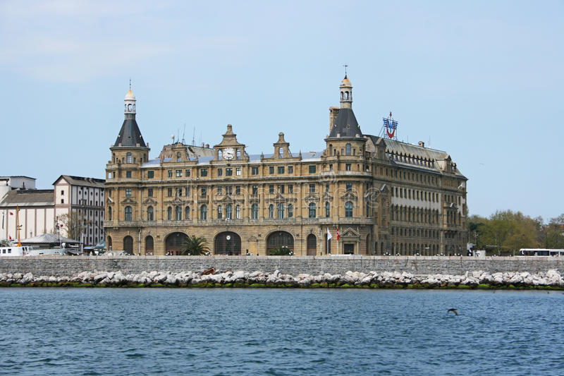 Download Haydarpasa Train Station editorial stock image. Image of architectural - 19433424