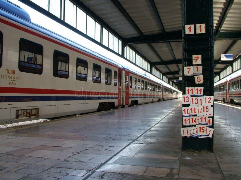 Haydarpasha火车站 免版税图库摄影