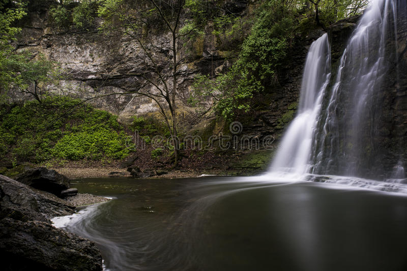 Hayden Falls - Dublin, Ohio imagens de stock royalty free