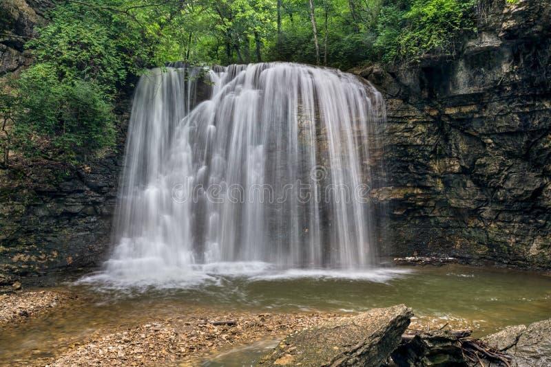 Hayden Falls em Columbo, Ohio foto de stock