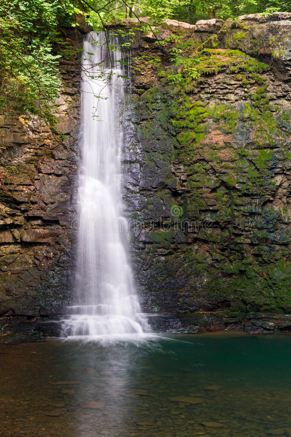 Hayden Falls i Dublin, Ohio royaltyfria bilder