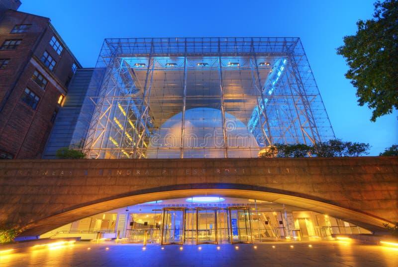 Hayden Planetarium arkivbild