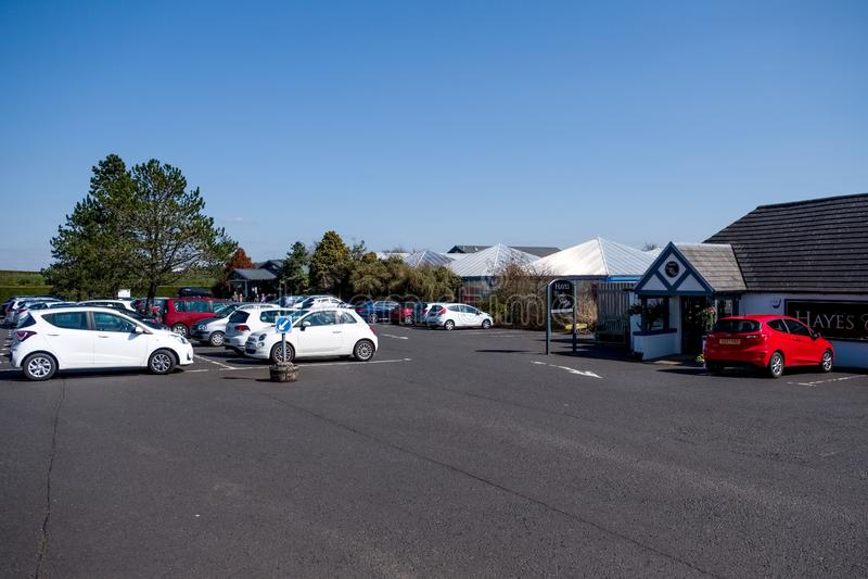 Hayes Garden Centre in ayrshire del sud in Scozia immagine stock
