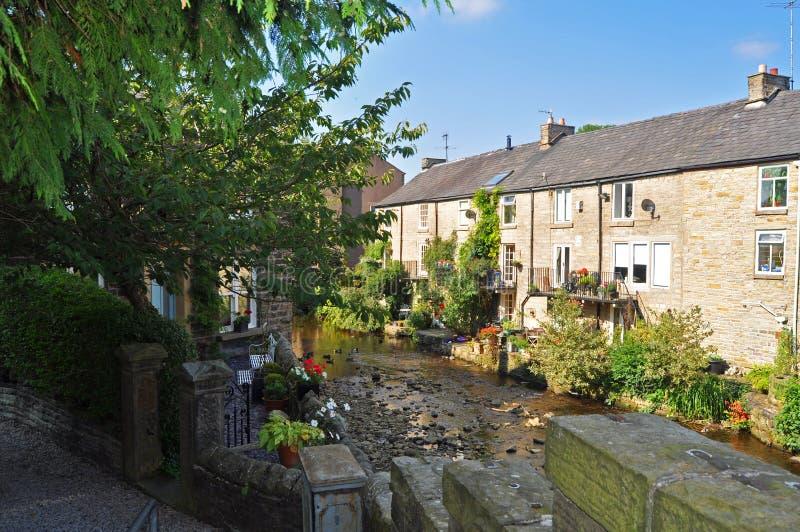 Hayfield - Derbyshire het UK royalty-vrije stock fotografie