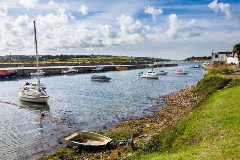 Hayle Harbor Cornwall England immagini stock libere da diritti