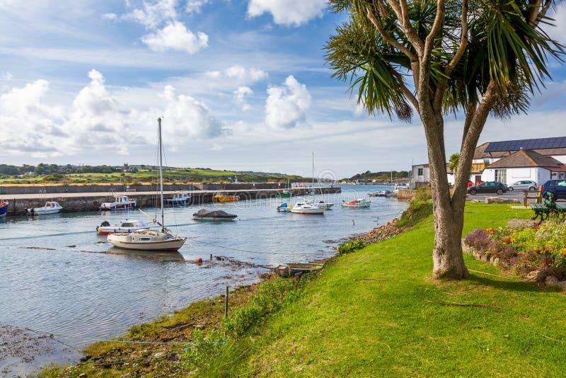 Hayle Harbor Cornwall England fotografia stock