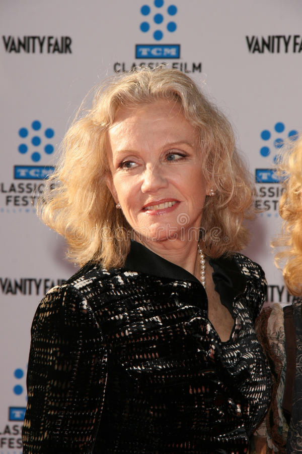 Hayley Mills. LOS ANGELES - APR 27: Hayley Mills arriving at the TCM Classic Film Festival Opening Night Gala And World Premiere Of An American In Paris at stock images