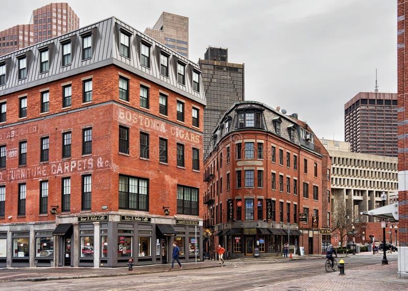 Haymarket à Boston le Massachusetts photos stock