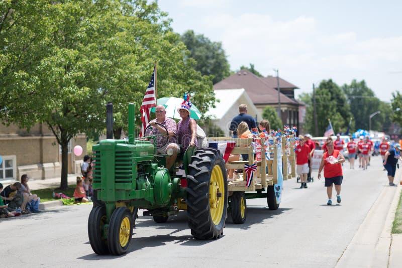 Haynes Apperson Parade fotografie stock libere da diritti