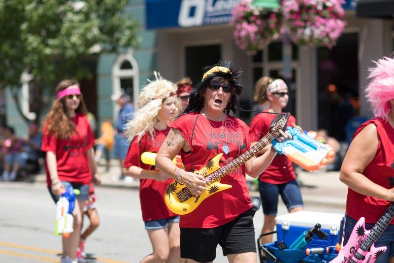 Haynes Apperson Parade foto de archivo libre de regalías