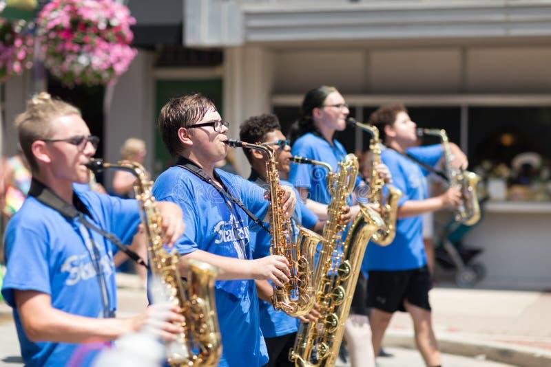 Haynes Apperson Parade foto de stock