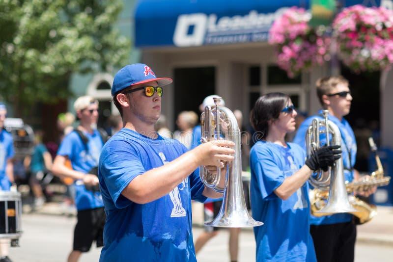 Haynes Apperson Parade fotografia de stock royalty free