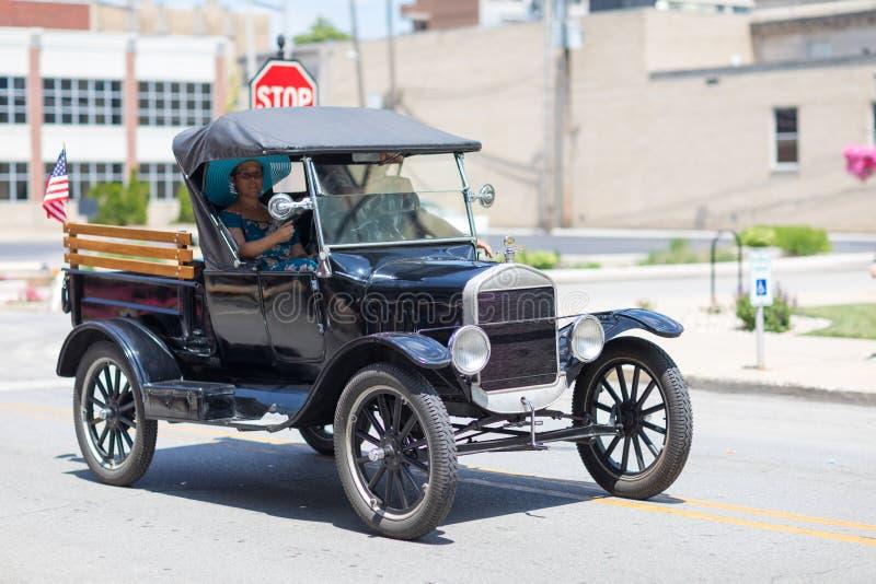 Haynes Apperson Parade imagem de stock