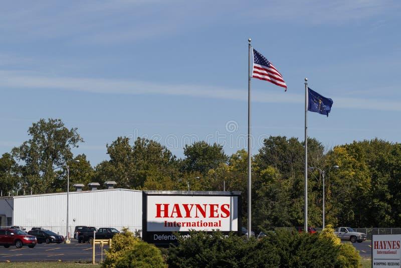Haynes International manufacturing facility. Haynes International produces alloys used in aerospace and turbine manufacturing I stock image