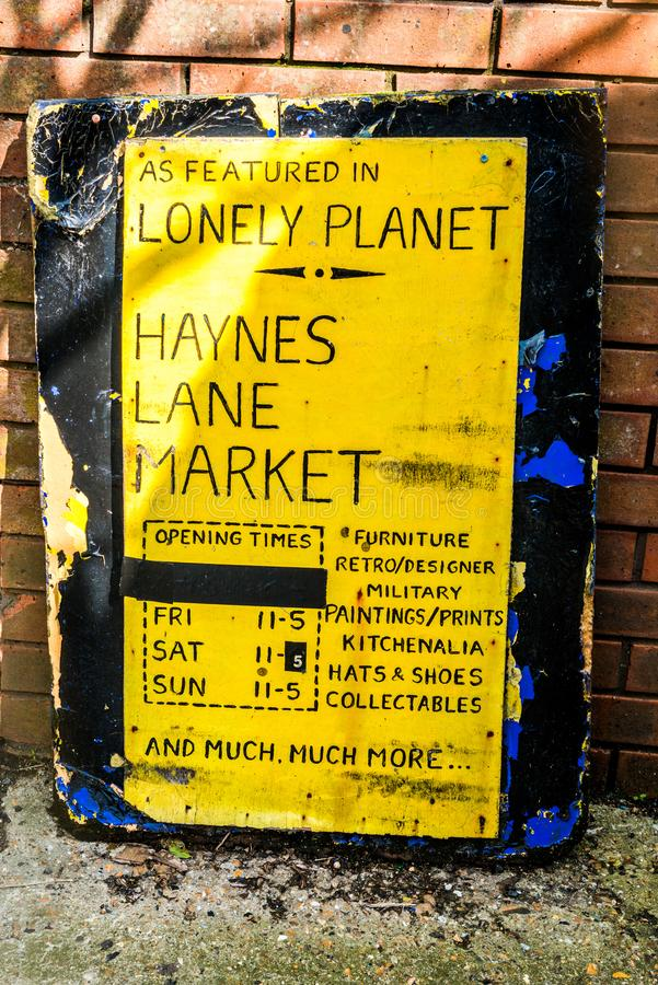 Haynes Lane Market photographie stock libre de droits