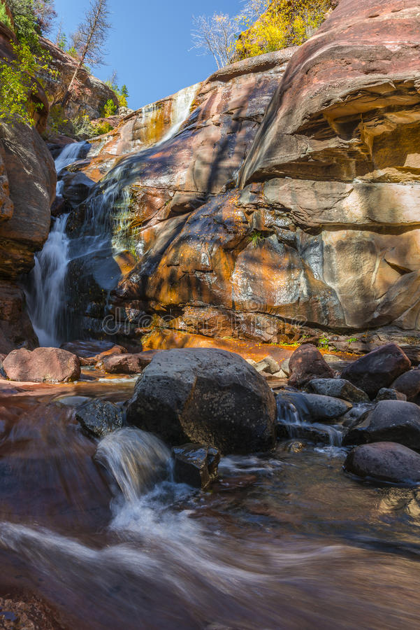 Hays Creek Falls Colorado. Hays Creek Falls - Pitkin County, CO royalty free stock photos