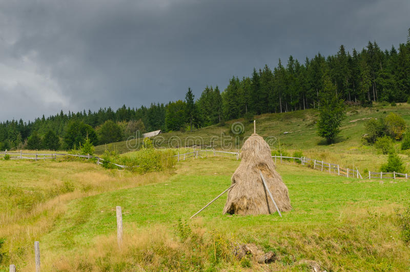 haystack στοκ εικόνα