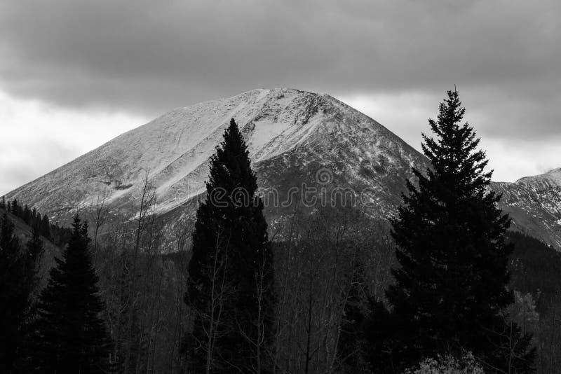 Haystack góra w losu angeles Sal lesie państwowym fotografia stock
