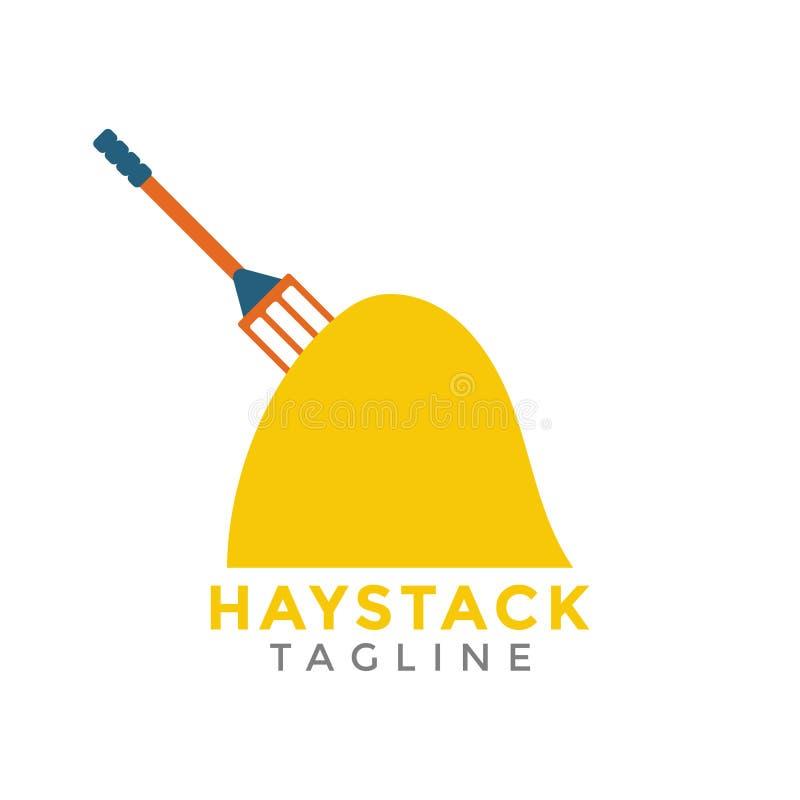 Haystack graphic design element vector illustration isolated. Haystack graphic design element vector stock illustration