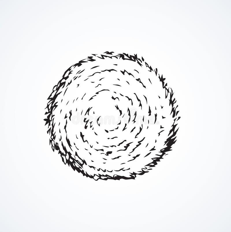 haystack Illustrazione di vettore illustrazione vettoriale