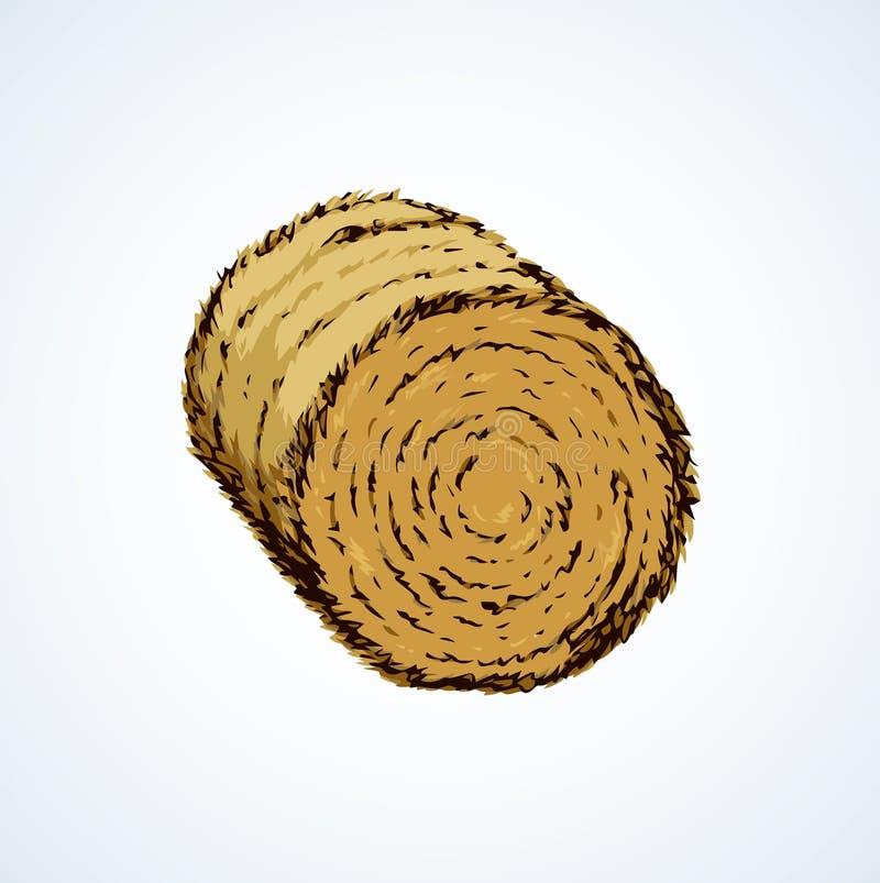 haystack Illustrazione di vettore illustrazione di stock