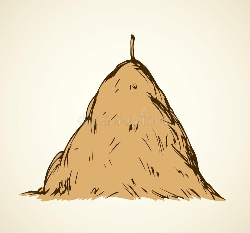 haystack Illustrazione di vettore royalty illustrazione gratis