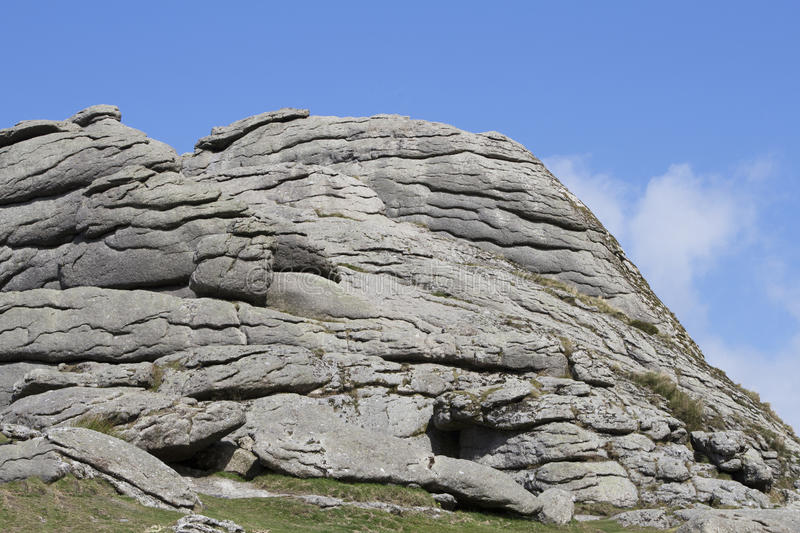 Haytor Rock Devon royalty free stock image