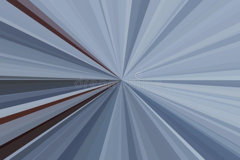 Haz azul claro del fondo del resplandor blanco libre illustration
